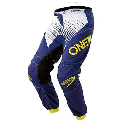 O'Neal Kinder Element Racewear Motocross MX Enduro Hose, 0108, Blau Gelb, Gr.- 26/ 12-14 Jahre (Mädchen-band Zwölf)