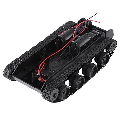 Leichte Stoß absorbiert Kunststoff Roboter Tank Chassis Smart Auto Plattform DIY Kit mit 130 Motor 3 V-7 V für Wifi Vedio Aufnahme Fahrzeug -
