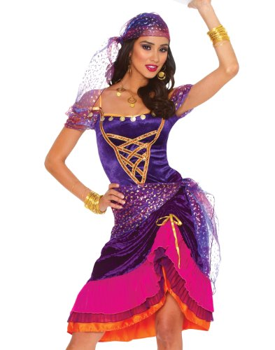 lty Company Womens Sexy Gypsy Halloween Costume Size Large (Gypsy Für Halloween)