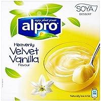 Alpro De Vainilla De Postre De Soja 4 X 125g