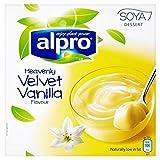 Alpro Soya Vanille Dessert 4 X 125G - Packung mit 6