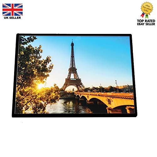 A4 Slim 9 mm Werbung Poster Einzelhandelsmenü-Display LED Licht Box Snap Frame