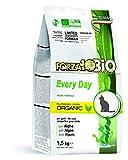 Forza10 Every Day Pollo und Alge (Huhn Geschmack), Bio Trockenfutter für Katzen, 1er Pack (1 x 1.5 kg)