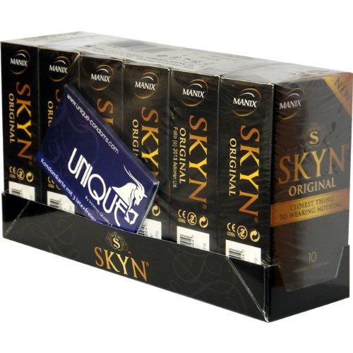 Manix SKYN Original 60 (6x10) latexfreie Kondome - Vorteilspack!