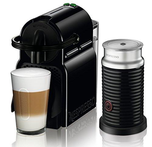 Nespresso Inissia & Aeroccino EN80.BAE Macchina per Caffè Espresso, Nero
