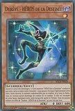 """Carte Yu-Gi-Oh! """"Dureve - Héros de la Destinée"""" BLLR-FR024 - VF/ULTRA RARE"""