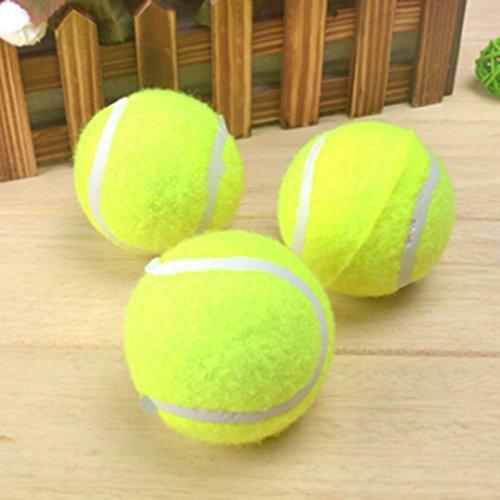 LnLyin Spielzeug Ball Haustier Spielzeug Tennis Umwelt Resistent Biss Material Hundetraining Spielzeug Ball