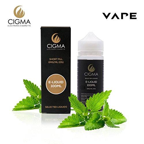 CIGMA Menta 100ml E Liquido 0mg | Nuevas botellas