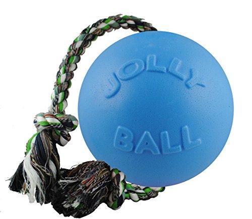 Jolly Pets JOLL050B Hundespielzeug - Ball Romp-n-Roll, 15 cm, hellblau (Hundespielzeug Stuff Tiere)