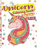 Unicorn Coloring Book for Kids ages 4-8: Cute Unicorn Cartoon The Really Best Relaxin...