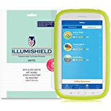 2X iLLumiShield Matte Anti-Glare Screen Protector for Samsung Galaxy Tab E Kids