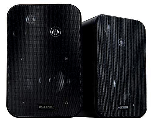 McGrey One Control MKII Lautsprecher (1 Paar Kompakt-Lautsprecher, Belastbarkeit: 10 Watt RMS, 4
