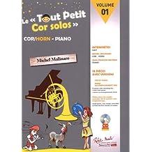 Le Tout Petit Cor Solos, Volume 1 - BOOK+CD