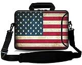 Sidorenko 17-17,3 Zoll Laptoptasche | Laptop Umhängetasche: Stilvolle Designer - Computer - Notebook-Schultertasche aus Neopren Schmutz- und Wasserabweisend | Notebook-Tasche mit Außentasche für Zubehör