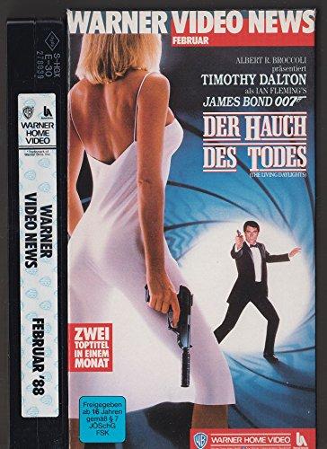 Warner Video News Februar 1988: James Bond 007 - Der Hauch des Todes (Promo VHS)