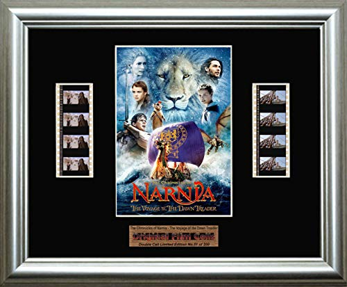www.filmcellsdirect.com The Chronicles of Narnia - The Voyage of The Dawn Treader - gerahmtes Bild mit doppelter Filmzelle