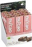 nucao Veganer Bio Superfood Riegel - Wilde Beere - Nährstoffreiche Vegane Schokolade aus Hanfsamen & Roh-Kakao, 480 g