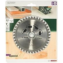 Bosch 2609256885 140 mm  Lama per sega circolare speciale, 40 denti, foro 20 mm / foro con anello di riduzione di 12,75 millimetri - Sega Circolare Marchi