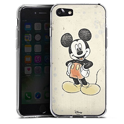 Apple iPhone 6s Silikon Hülle Case Schutzhülle Disney Mickey Mouse Merchandise Geschenke Silikon Case transparent