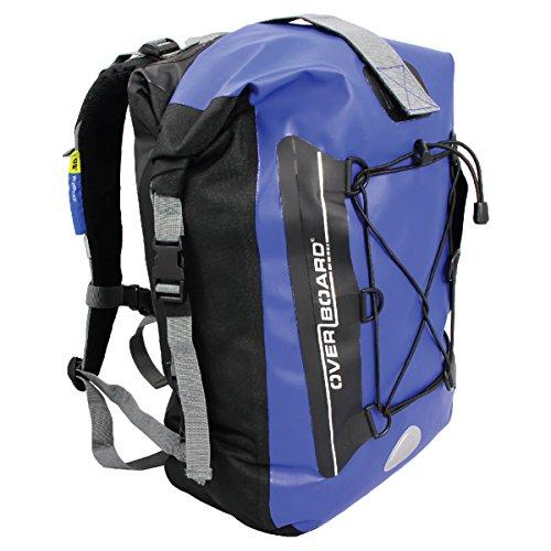 Overboard Premium Wasserdichter Rucksack | 30 Liter Auftriebskörper | 100% wasserdichter Dry Bag Rolltop Rucksack | mit 2-Wege-Falz-Dichtu...