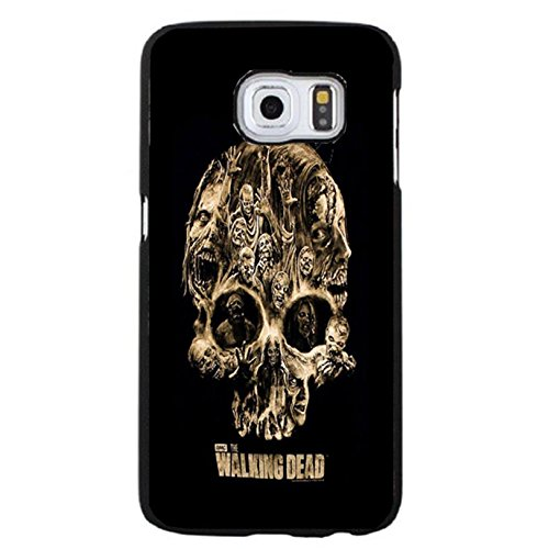 Coque Samsung Galaxy S6 Edge Plus Cover Shell Fashionable Horror Skull Horror Zombies TV The Walking Dead Phone Case Cover Hipster Weird,Cas De Téléphone