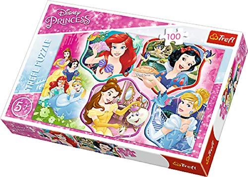 Bavaria-Home-Style-Collection Disney Kinder Puzzle Puzzles Prinzessin Motiv Princess Charm 100 Teile ab 5 Jahre Geschenk Idee für Mädchen Kinder Ostern Geburtstag Weihnachten Mitbringsel