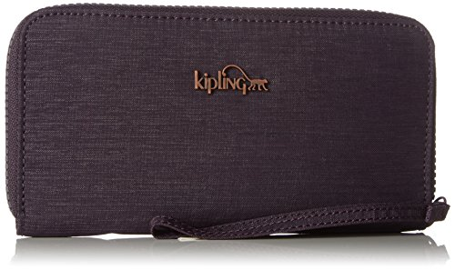 Kipling Alia, Portefeuilles femme, Violett (Spark Aubergine), 19x10x2 cm (B x H T)