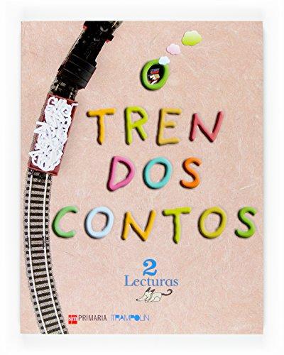 Lecturas: O tren dos contos. 2 Primaria. Proxecto Trampolín - 9788467512847