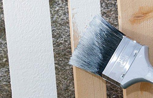 Holz Isoliergrund weiss, deckend - Vorstreichfarbe für Wetterschutzfarbe und Dauerschutzfarbe im Außenbereich (0,75 Liter)