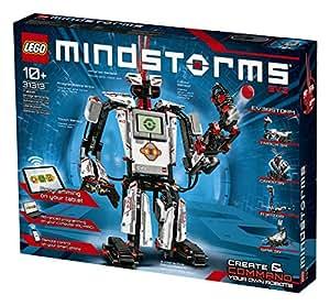 LEGO 31313 MINDSTORMS EV3 Robot Building Kit, 5 in 1 Model, RC and Servo-Motor, Programmable Toys for Kids