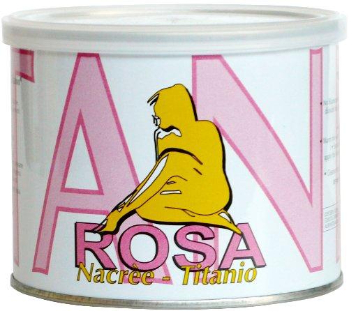 Warmwachs ROSA, 400 ml Profi Wachs-Enthaarung mit Vliesstreifen von ARCOCERE
