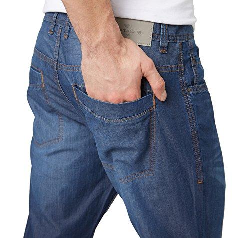 Tom Tailor für Männer Denim Josh Regular Slim dark stone wash denim