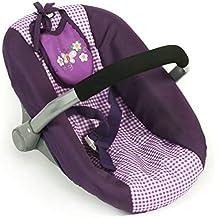 Bayer Chic 2000 708 28 Muñeca asiento del coche, púrpura del inspector, púrpura