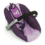 Bayer Chic 2000 708 28 Puppen Autositz, Purpur Checker, lila