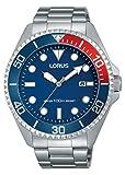 Lorus Watches Reloj Unisex de Analogico con Correa en Chapado en Acero Inoxidable RH941GX9