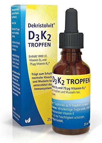 Dekristolvit D3K2, 25 ml Tropfen - 25 Ml Tropfen
