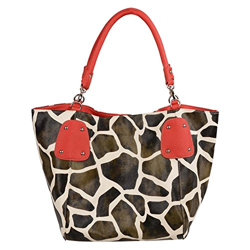 fash-giraffe-print-faux-leather-tote-handbag-red