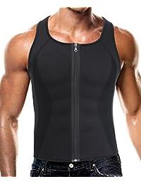 ACMEDE Herren Abnehmen Bauch K/örper Fitnessg/ürtel Former Tank Top Taille Shapewear f/ür Weight Loss