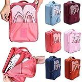 #10: Panzl Waterproof Travelling Shoe Storage Bag Storage Footwear Organiser Pouch(Color May Very)