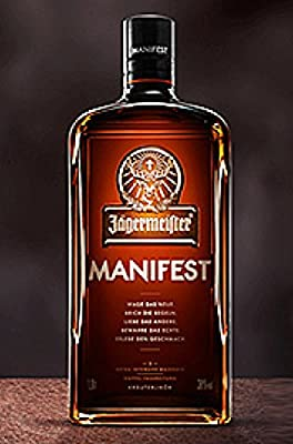 1 Flasche Orginal Jägermeister Manifest Streng Limitiert a 1L
