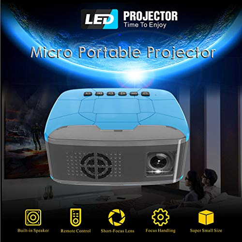 Taschenprojektor LCD LED Projektor, Mini Beamer, Full