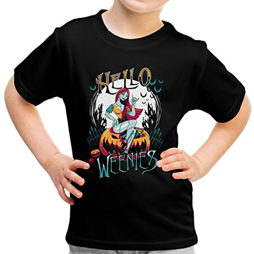 Hello Weenies Sally Nightmare Before Christmas Kid's T-Shirt