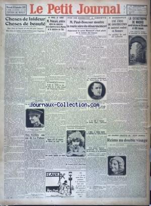 PETIT JOURNAL (LE) [No 23995] du 26/09/1928