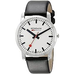 Mondaine Herren-Armbanduhr SBB Simply Elegant 41mm Analog Quarz A6383035011SBB