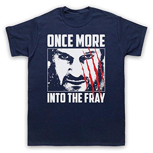 Inspiriert durch The Grey Once More Into The Fray Unofficial Herren T-Shirt Ultramarinblau