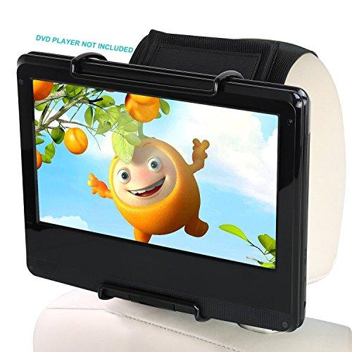 PUMPKIN Support pour Lecteur DVD Portable Blu Ray ou Ecran d'appui-tête de 10,1 à 12,5 Pouce