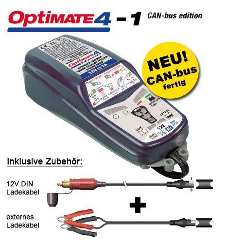 TecMate Optimate 4 Can-Bus - Cargador batería BMW