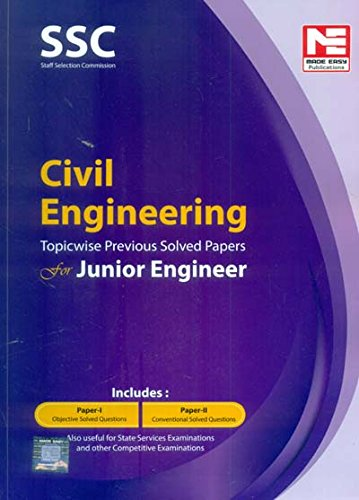SSC Civil Engineering Solved Paper For Junior Engineer