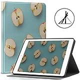 Custodia protettiva per 9.7 iPad Diverse simpatiche fette di mela si adattano all'iPad 2018/2017 Custodia impermeabile per iPad 9.7 di quinta e sesta generazione adatta anche per iPad Air 2