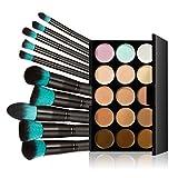 LEORX Face Contour Kit marcador maquillaje Kit 15 paleta crema...